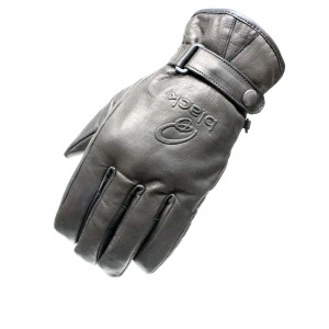5099-Black-Echo-Leather-Motorcycle-Glove-0