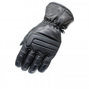 5100-Black-Charge-Leather-Motorcycle-Glove-0