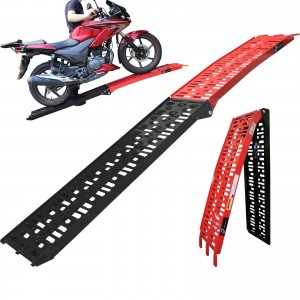 5144-Black-Coated-Motorcycle-Aluminium-Folding-Ramp-0