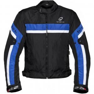 Black-Argon-Evo-Motorcycle-Jacket-Blue-New-2