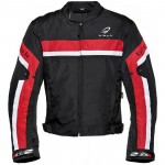 Black-Argon-Evo-Motorcycle-Jacket-Red-New-2