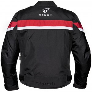 Black-Argon-Evo-Motorcycle-Jacket-Red-New-3
