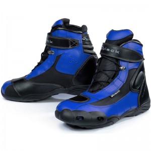Black-FC-Tech-Short-Motorcycle-Boot-Blue-1