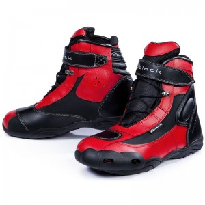 Black-FC-Tech-Short-Motorcycle-Boot-Red-1
