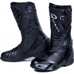 Black-Zero-Waterproof-motorcycle-Boot-Black-1