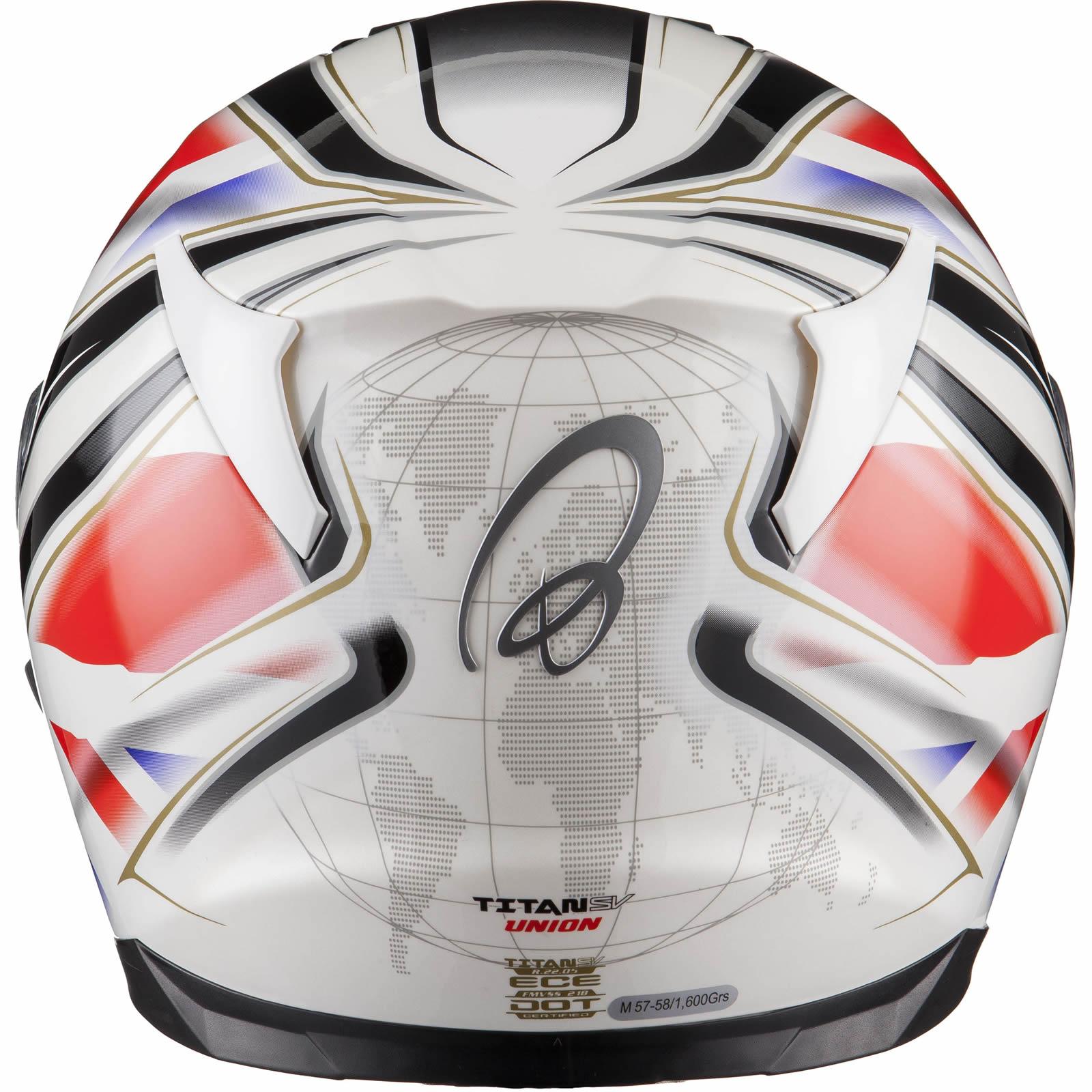Titan Sv Union Motorcycle Helmet
